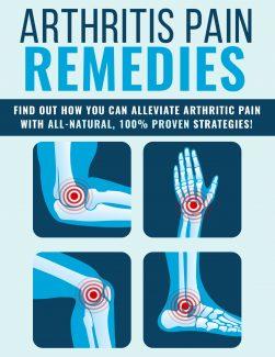 Arthritis Pain Remedies PLR Ebook