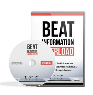 Beat Information Overload Video Upgrade MRR Video