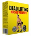 Dead Lifting Niche Website Personal Use Template