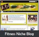 Fitness Niche Blog Personal Use Template
