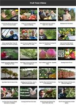 Fruit Trees Instant Mobile Video Site MRR Software