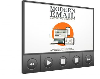 Modern Email Marketing And Segmentation – Video Upgrade MRR Video With Audio