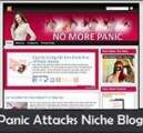 Panic Attacks Niche Blog Personal Use Template
