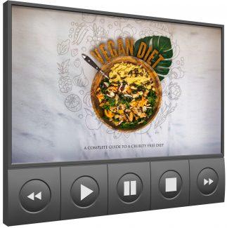 Vegan Diet Video Upgrade MRR Video With Audio