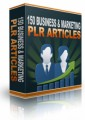 150 Business  Marketing Plr Articles Personal Use Article