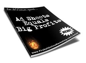 Ad Sheets Equals Big Profits Resale Rights Ebook