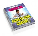 How To Cash In With Your Own Private Label Content ...