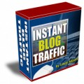 Instant Blog Traffic Resale Rights Software