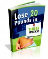 Lose 20 Pounds In Three Weeks MRR Ebook