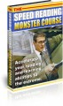 The Speed Reading Monster Course PLR Ebook