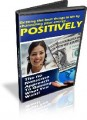 Using Power Of Positive Thinking Resale Rights Ebook