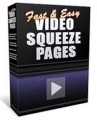 Fast And Easy Video Squeeze Pages Personal Use Template