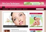 Skin Care Niche Blog Personal Use Template With Video