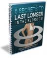 5 Secrets To Lasting Longer PLR Ebook