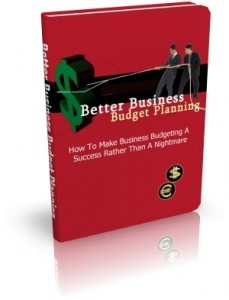 Better Business Budget Planning Mrr Ebook