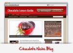 Chocolate Niche Wordpress Theme Personal Use Template