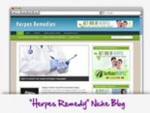 Herpes Remedy Blog Personal Use Template With Video