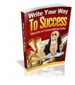 Write Your Way To Success MRR Ebook