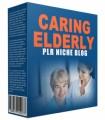 Caring Elderly Plr Niche Blog PLR Template