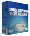 Cruise Ship Jobs Flipping Niche Site Personal Use Template