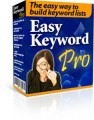 Easy Keyword Pro Give Away Rights Software