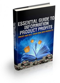 Essential Guide To Information Product Profits MRR Ebook