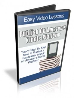 How To Publish An Ebook On Amazon Kindle MRR Video