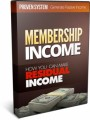 Membership Income MRR Video With Audio