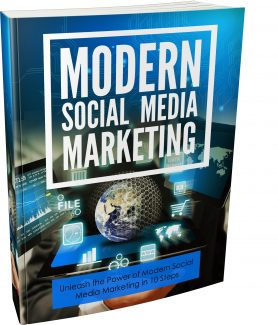 Modern Social Media Marketing MRR Ebook