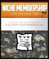 Niche Membership Site Carving Tips MRR Ebook