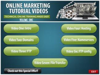 Online Marketing Training Videos Vol 1 Resale Rights Video