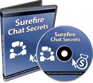 Surefire Chat Secrets PLR Video With Audio