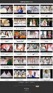 Wedding Dresses Instant Mobile Video Site MRR Software