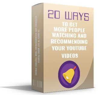 20 Ways To Get More People Watching Giveaway Rights Ebook