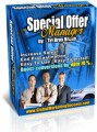 Special Offer Manager MRR Template