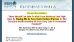 BBO Teleseminar Formula Plr Ebook With Audio