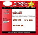 My Jokes Website Red Personal Use Template