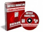 Article Marketing-A Quick & Easy Overview Mrr Ebook ...