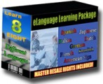Elanguage Learning Package MRR Ebook