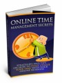 Online Time Management Secrets Mrr Ebook