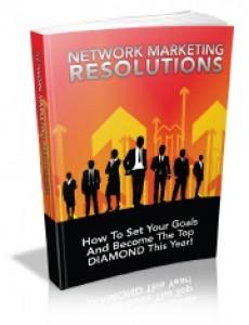 Network Marketing Resolutions Mrr Ebook