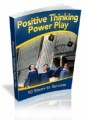 Positive Thinking Power Play Mrr Ebook