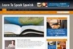 Learn Spanish Niche Blog Personal Use Template With Video