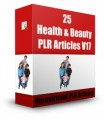25 Health  Beauty V17 PLR Article