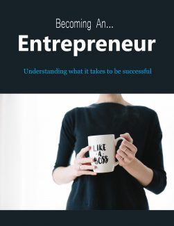 Becoming An Entrepreneur PLR Ebook