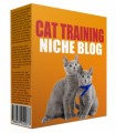 Cat Training Niche Site Personal Use Template