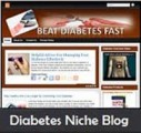 Diabetes Niche Blog Personal Use Template
