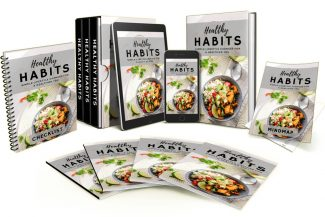Healthy Habits Video Upgrade MRR Video With Audio