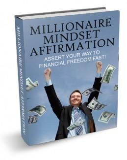 New Millionaire Mindset Affirmation MRR Ebook
