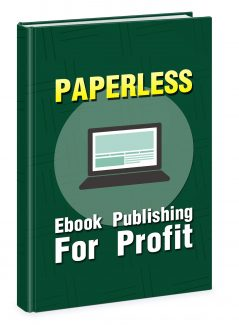 Paperless Ebook Publishing For Profit MRR Ebook